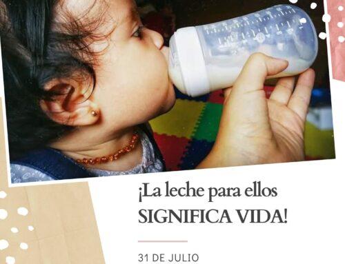 Donación de leche y cereales infantiles en Sabadell