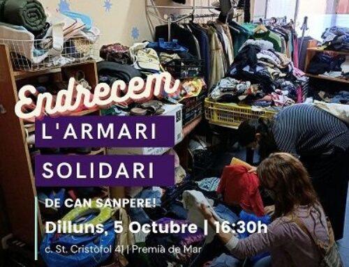 Endrecem l'Armari Solidari de Can Sanpere