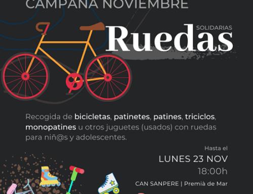 Ruedas solidarias – Campaña noviembre