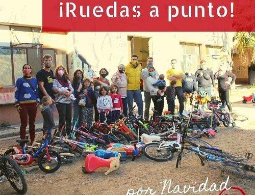 Bicicletas, patinetes, patines… solidarios listos por Navidad