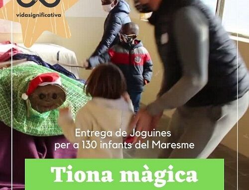 130 niñas y niños del Maresme se benefician de la Tiona Solidaria